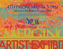 Poster Fourth Friday Gallery Event