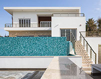 The house in Cyprus. Outside.