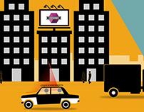 """V.Taxi"" Animation"