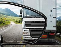 Peugeot RCZ Turbo - Print Campaign