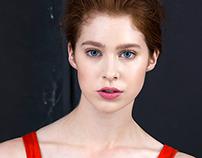 Model test - Sara Cate at Major Model Management NYC