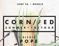 Corn/fed Summer 14 Tour Poster