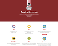 CHESS XIX Opening Reception Website
