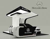 Mercedes-Benz New C-Class Booth