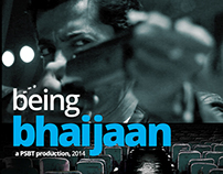 Being Bhaijaan: Poster Design for a documentary