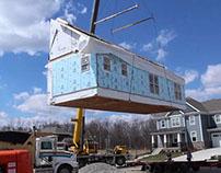 "EcoCraft ""Newbury House Build"" Time-Lapse"