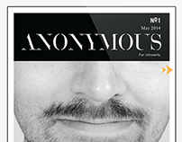 Anonymous: magazine app concept for introverts