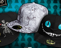 ALICE IN WONDERLAND CAP COLLECTION
