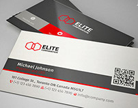 Corporate Clean Business Card 65