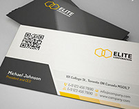 Corporate Clean Business Card 57