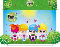 Эскизы упаковки для кукол-цветочков