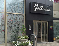 Floral pattern for Gallerian