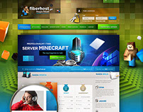 Fiberhost -  website design