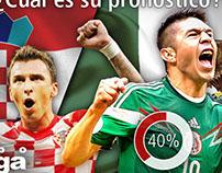 """Promoción """"México vs Croacia"""""""