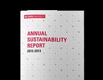 2013 NCSU Sustainability Report