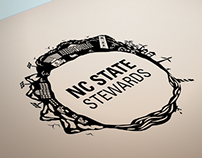 NC State Stewards Logo Illustration