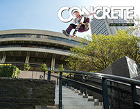 Concrete Skateboarding Magazine #129 / 2014