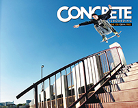 Concrete Skateboarding Magazine #130 / 2014