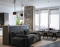 Modern living-room (september 2013)