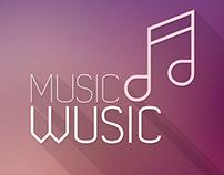 iPhone Music App Concept