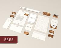 Free Mock Ups – Wood Edition