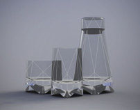 Origami Glasses // Bohemia Machine