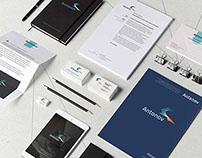 "Corporate identity for ""Antonov "" company"