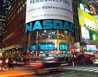Videos on Times Square (NASDAQ & Reuters screens)