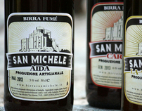 Birrificio San Michele Beer Label