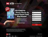 XTB Forex Kampanya Banner Çalışmaları