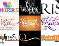 Typographic Logo Designs...