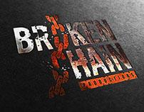 BrokenChain Productions Logo Brand Design
