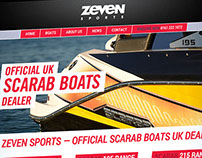 Website for Zeven Sports