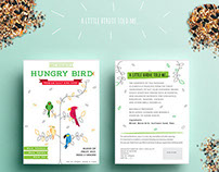 Hungry Bird: Speciality Organic Seed Packaging