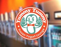 Frozen Yogurt Shop Branding
