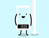 Smart Clock videocase