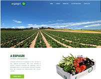 Responsive Website | Portuguese Vegetable Distributor