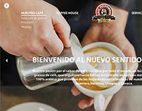 WEB DESIGN FOR CAFÉ MARTINIQUE