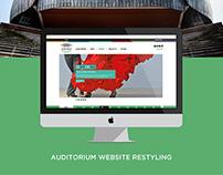 Restyling Auditorium Parco della Musica - WEBSITE