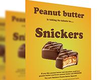 Snicker Design Ad