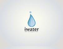 iwater logo