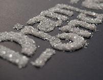 """Diamonds & Rust"" Typography Poster"