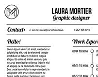 Laura Mortier | CV 2014