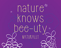 Burt's Bees - Nature Knows Bee-uty Campaign