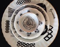 Illustrated Vintage Porcelain