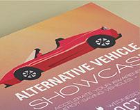 Alternative Vehicle Showcase Flyer