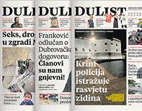 DuList newspaper redesign