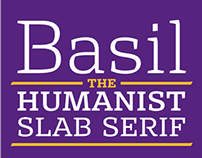 Basil - the humanist slab serif