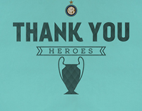 FC INTER - Thank you heroes