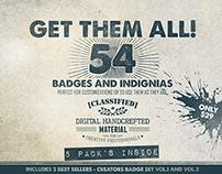 Get Them All - 54 Badges (Bundle)